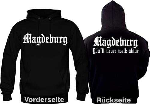 Magdeburg Fan Hooded Ultras Fussball Kult S-XXL