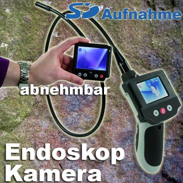 """EL499936 Endoskop-Kamera NES-F11 mit 3.5"""" Funk TFT Monitor ..."""