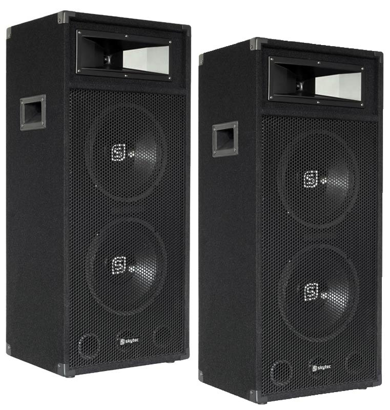 600w dj pa subwoofer bass lautsprecher box 38cm 15 sub. Black Bedroom Furniture Sets. Home Design Ideas