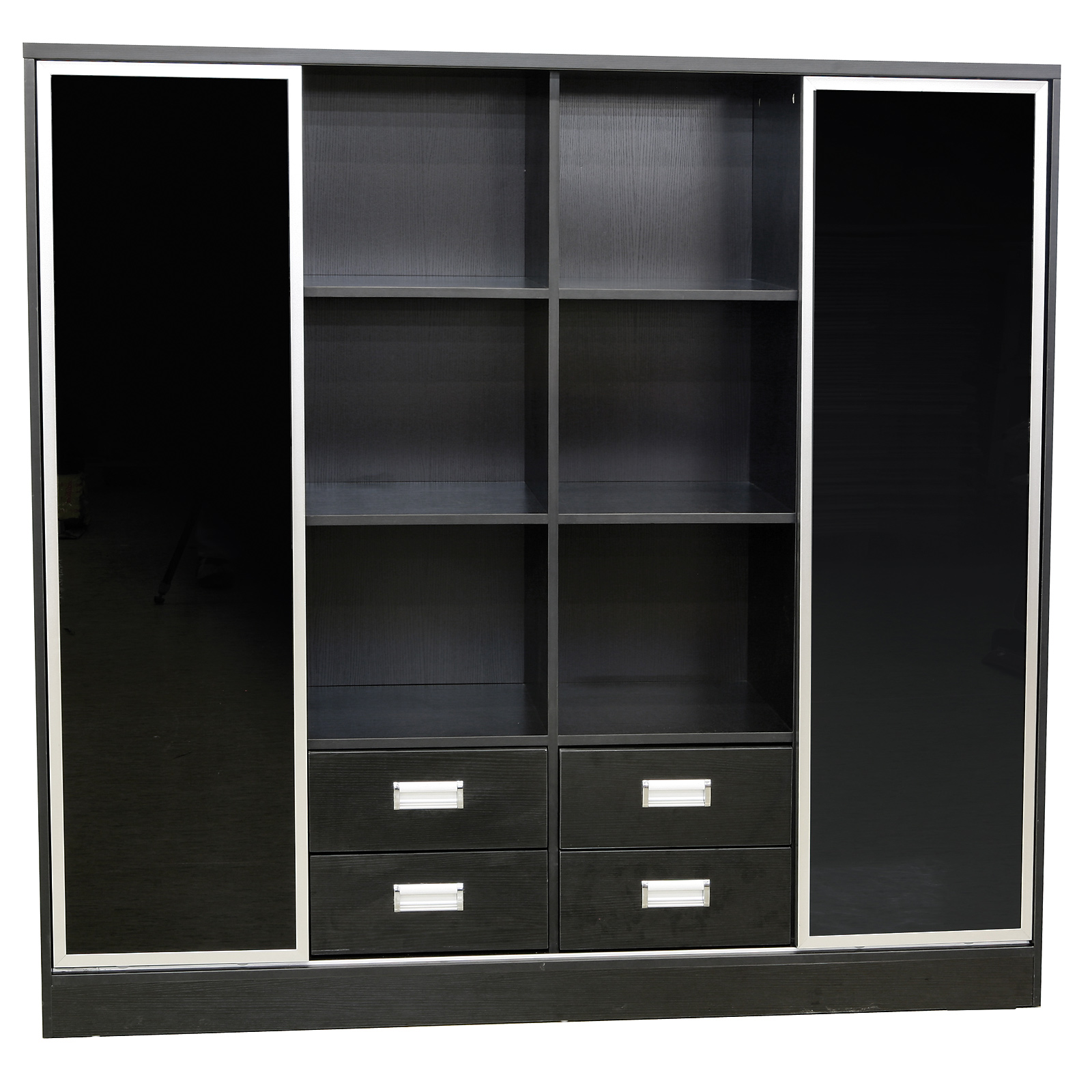 Büromöbel Aktenschrank Waldshut 1B in schwarz Büroschrank Schrank ...