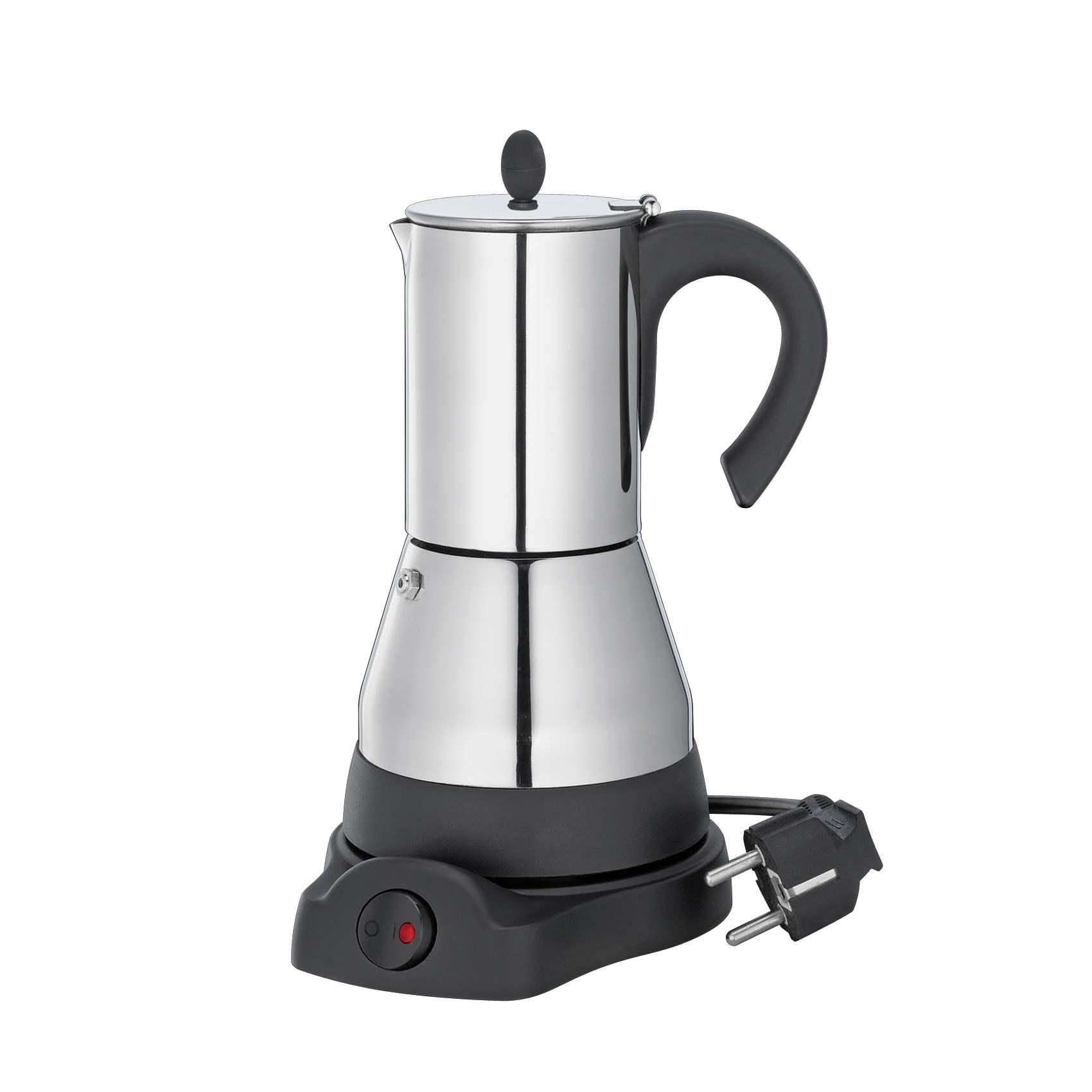 Espressokocher Edelstahl Elektrisch : cilio espressokocher lisboa elektrisch f r 6 tassen ~ Watch28wear.com Haus und Dekorationen