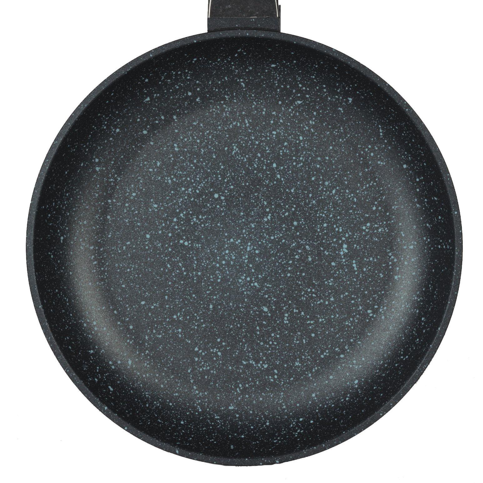 gsw bratpfanne titanium granit 24 cm flach 4005643453240 ebay. Black Bedroom Furniture Sets. Home Design Ideas