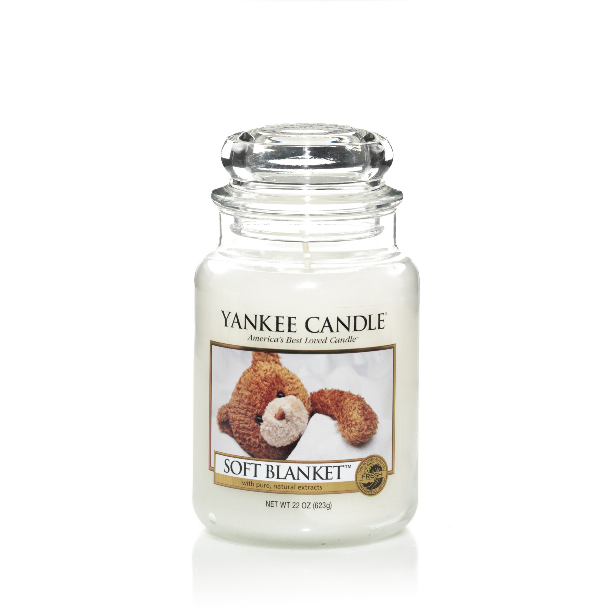 yankee candle gro e kerze soft blanket 623 g duftkerze ebay. Black Bedroom Furniture Sets. Home Design Ideas