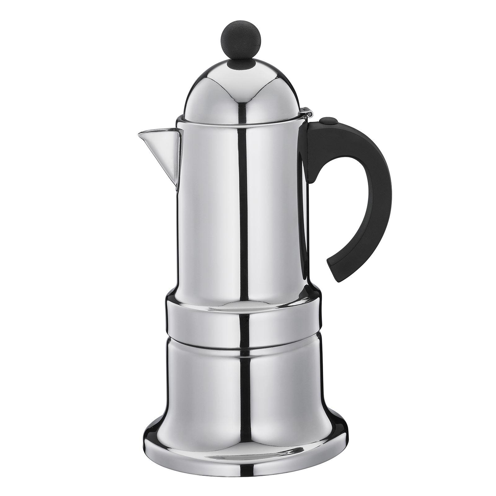 cilio espressokocher kontessa f r 6 tassen edelstahl induktion 4017166140415 ebay. Black Bedroom Furniture Sets. Home Design Ideas