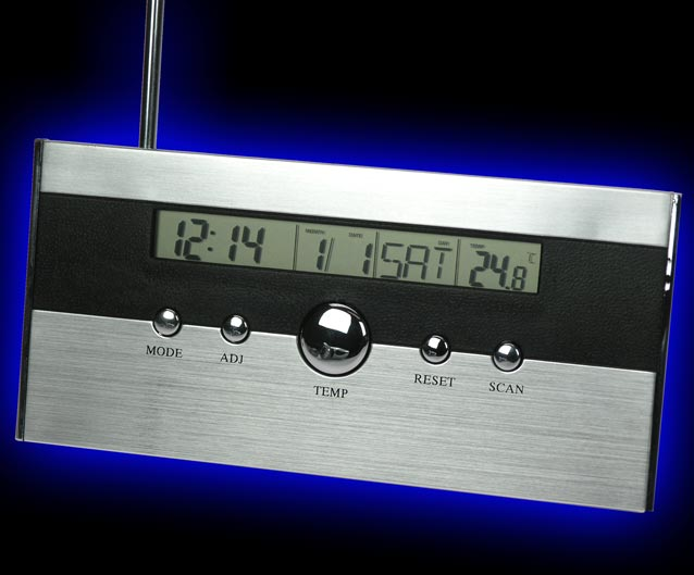 Radio + Thermometer + Datum 037