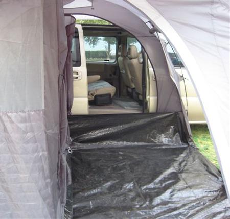 Tunnelbuszelt zelt busvorzelt schlafkabine 5000mm camping for Boden neu aufbauen