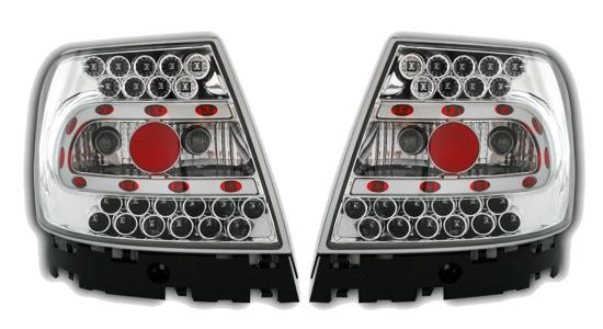LED RÜCKLEUCHTEN KLARGLAS AUDI A4 S4 B5 CHROM NEU LH   eBay