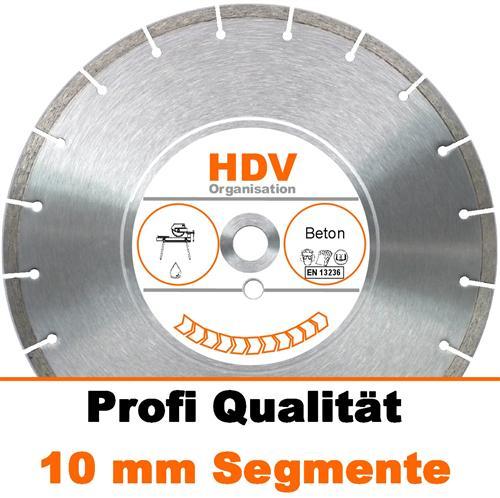 350 x 25,4 mm Beton Diamanttrennscheibe für Steinsäge