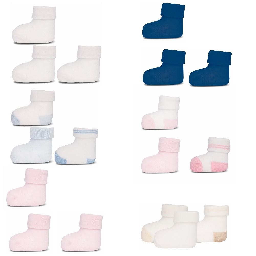 ewers 3er Set Baby-Socken Erstlingssöckchen Graziela Bauernhof