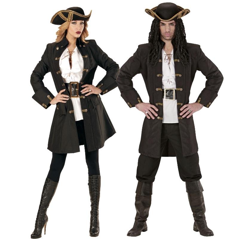 edler piraten mantel damen und herren partner kost m rokoko mittelalter edelmann ebay. Black Bedroom Furniture Sets. Home Design Ideas