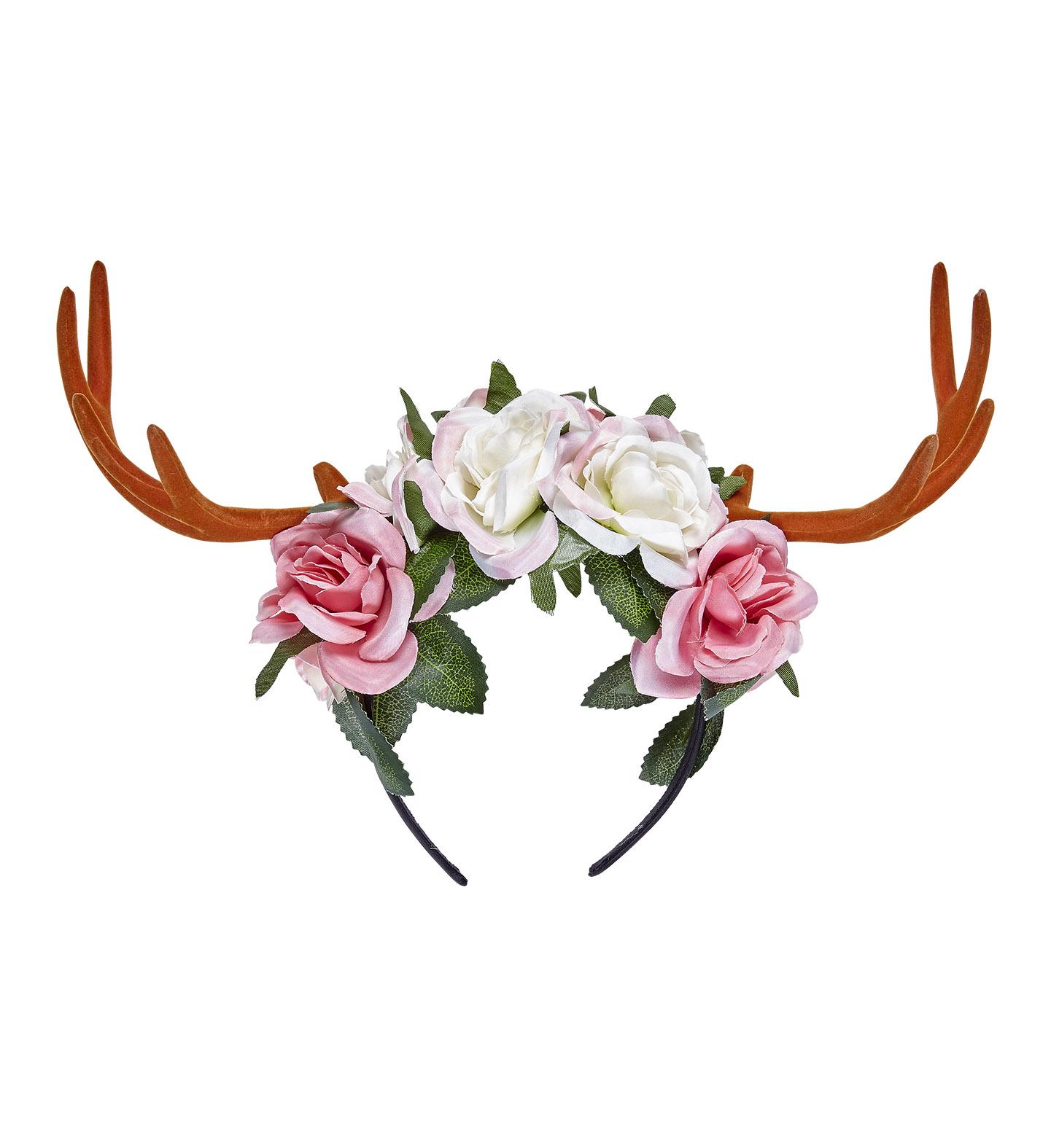 haarreif rentier geweih elch elchgeweih reh elfe waldfee. Black Bedroom Furniture Sets. Home Design Ideas