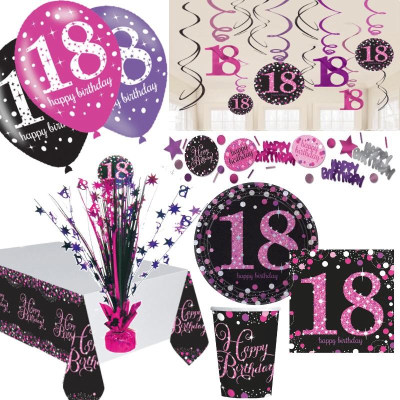 Geburtstag 18 Deko