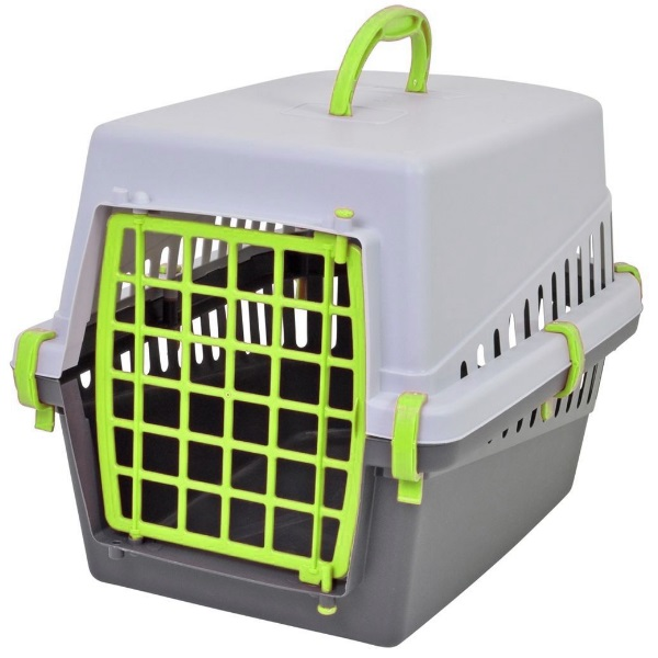 transportbox f r katzen hunde gr n auto hundetransportbox katzentransportbox ebay. Black Bedroom Furniture Sets. Home Design Ideas