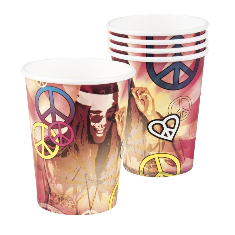 peace hippie motto party deko set 60er 70er jahre flower power riesenauswahl ebay. Black Bedroom Furniture Sets. Home Design Ideas