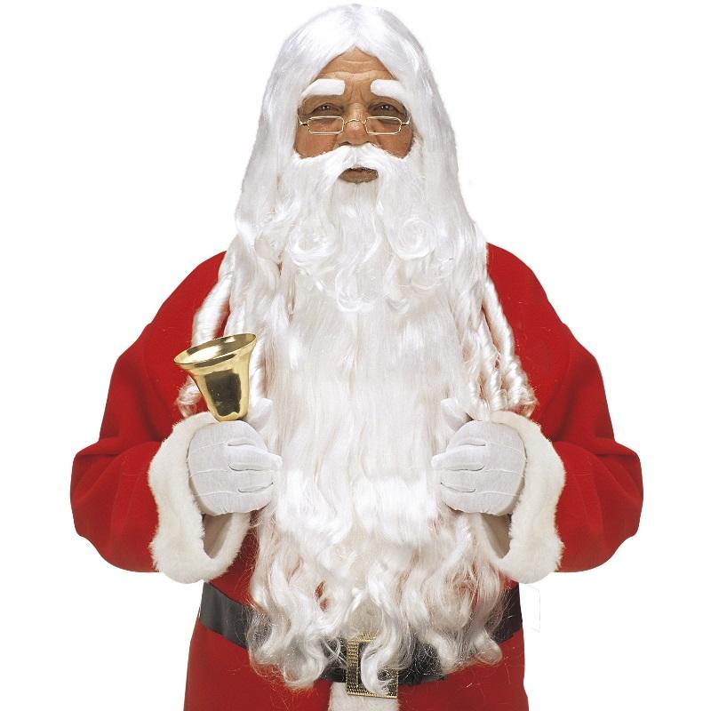 nikolaus weihnachtsmann per cke mit bart handschuhe glocke. Black Bedroom Furniture Sets. Home Design Ideas