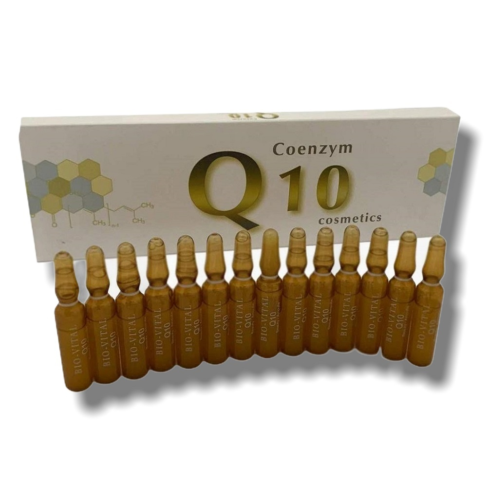 15x 2ml Anti-Aging Q10 Ampullen Regeneration Gesichtspflege Serum