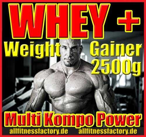 Whey PLUS Weight Gainer
