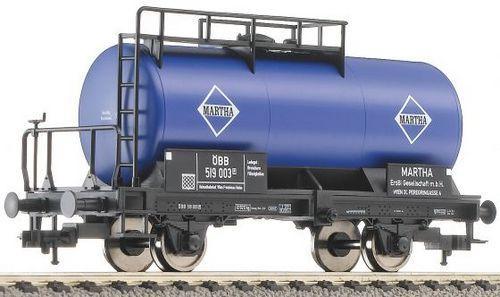 Spur H0 Fleischmann 5033 01 K Güterwagen Kesselwagen ÖBB Martha OVP