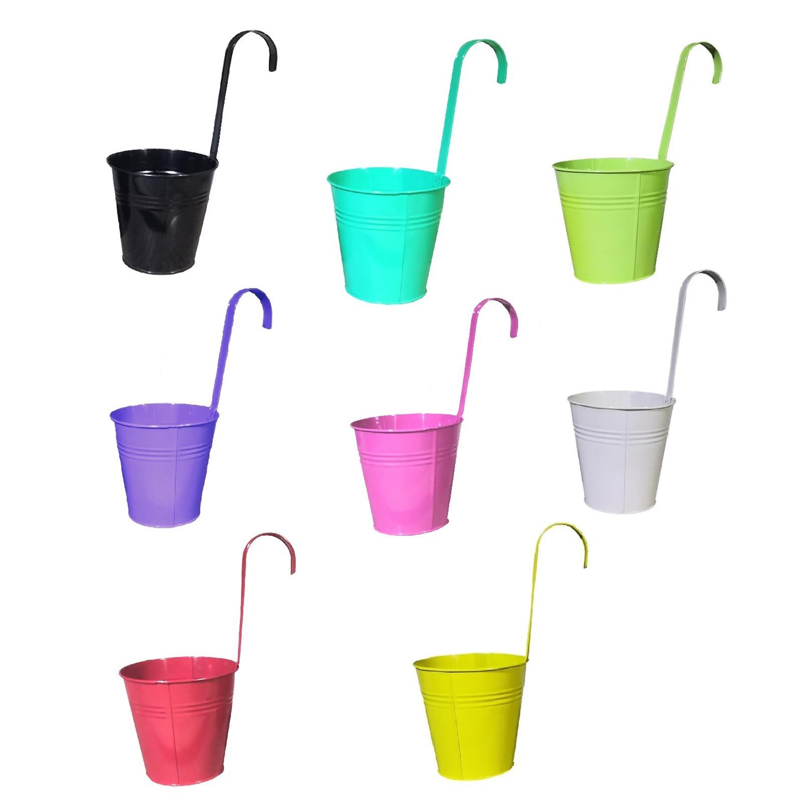 Hängetöpfe in 8 verschiedenen Farben