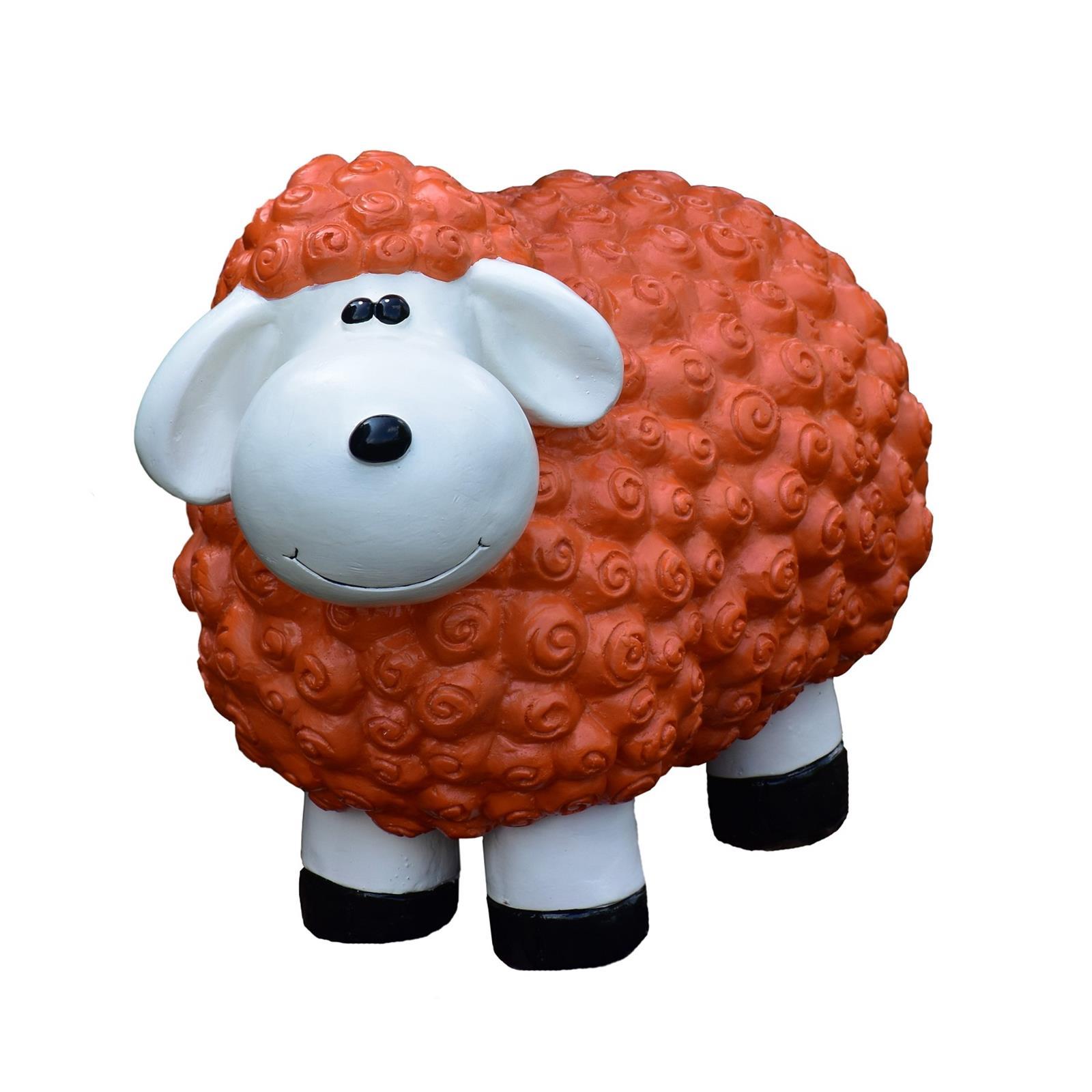 Schaf in Orange