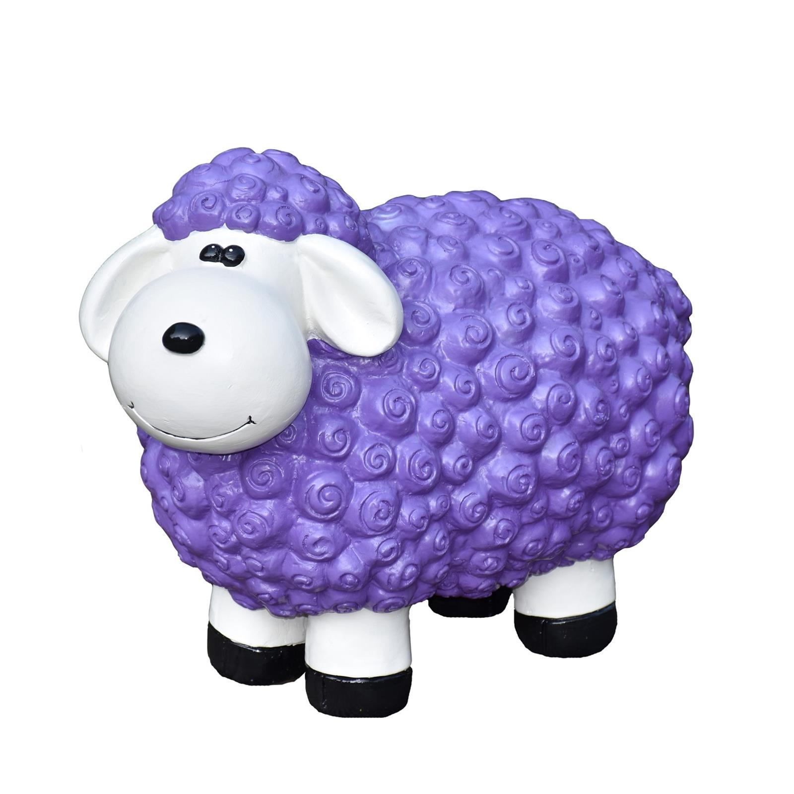 Schaf in Lila