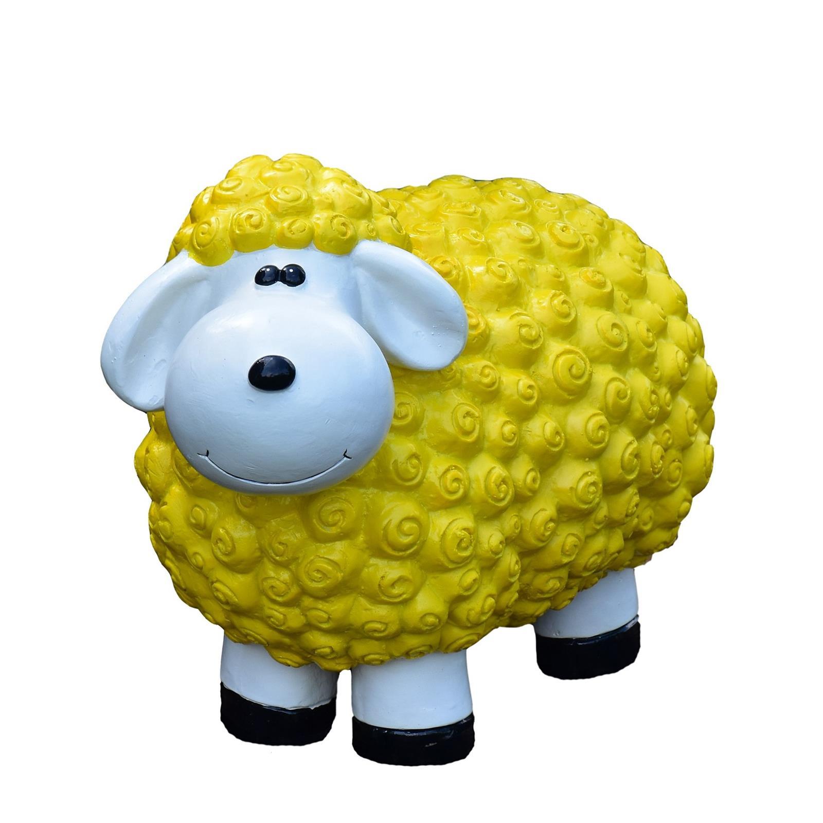 Schaf in Gelb