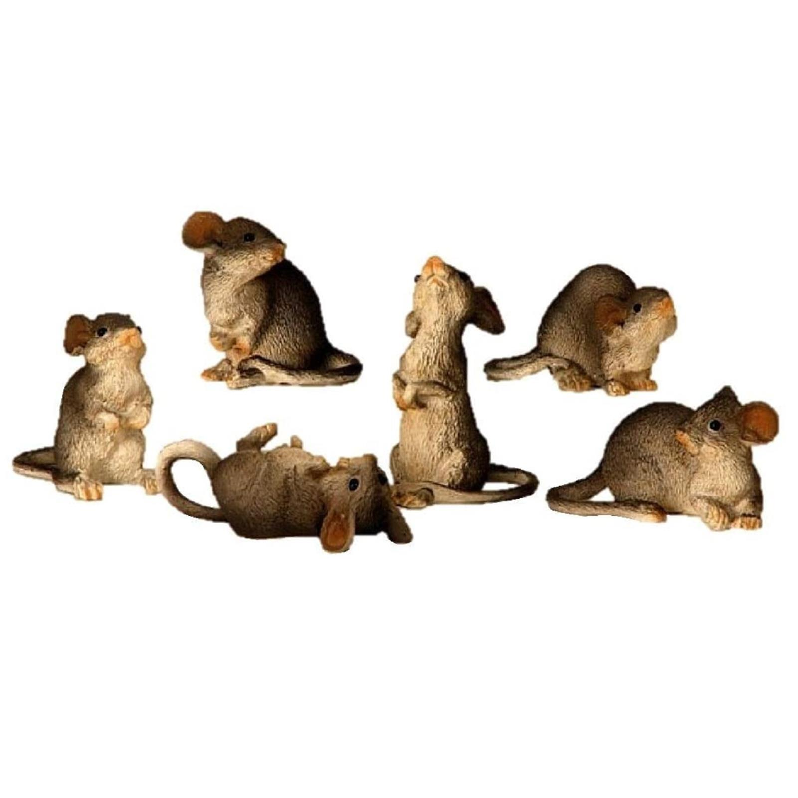 6 Mäuse