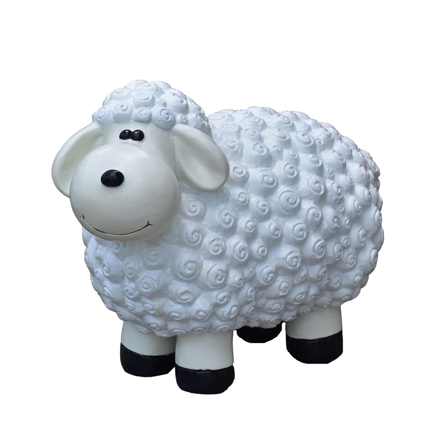 Schaf in Weiß