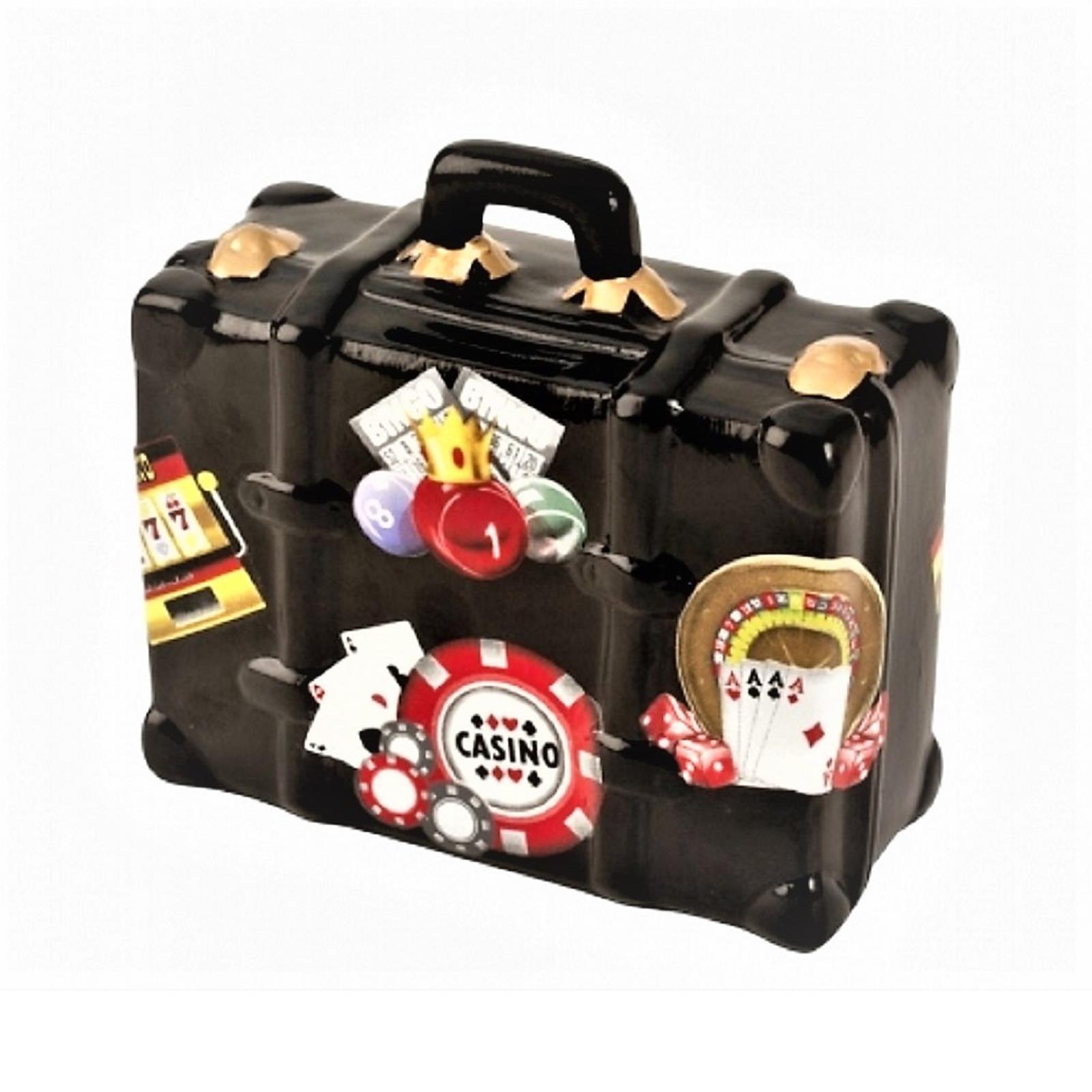 Spardose Koffer Casino