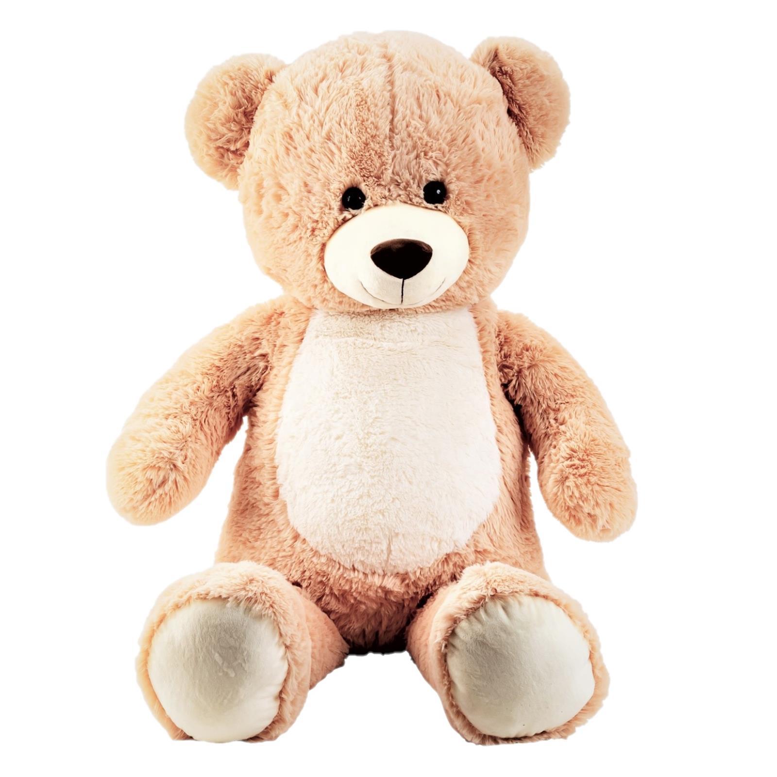 Teddybär mit weissem Bauch