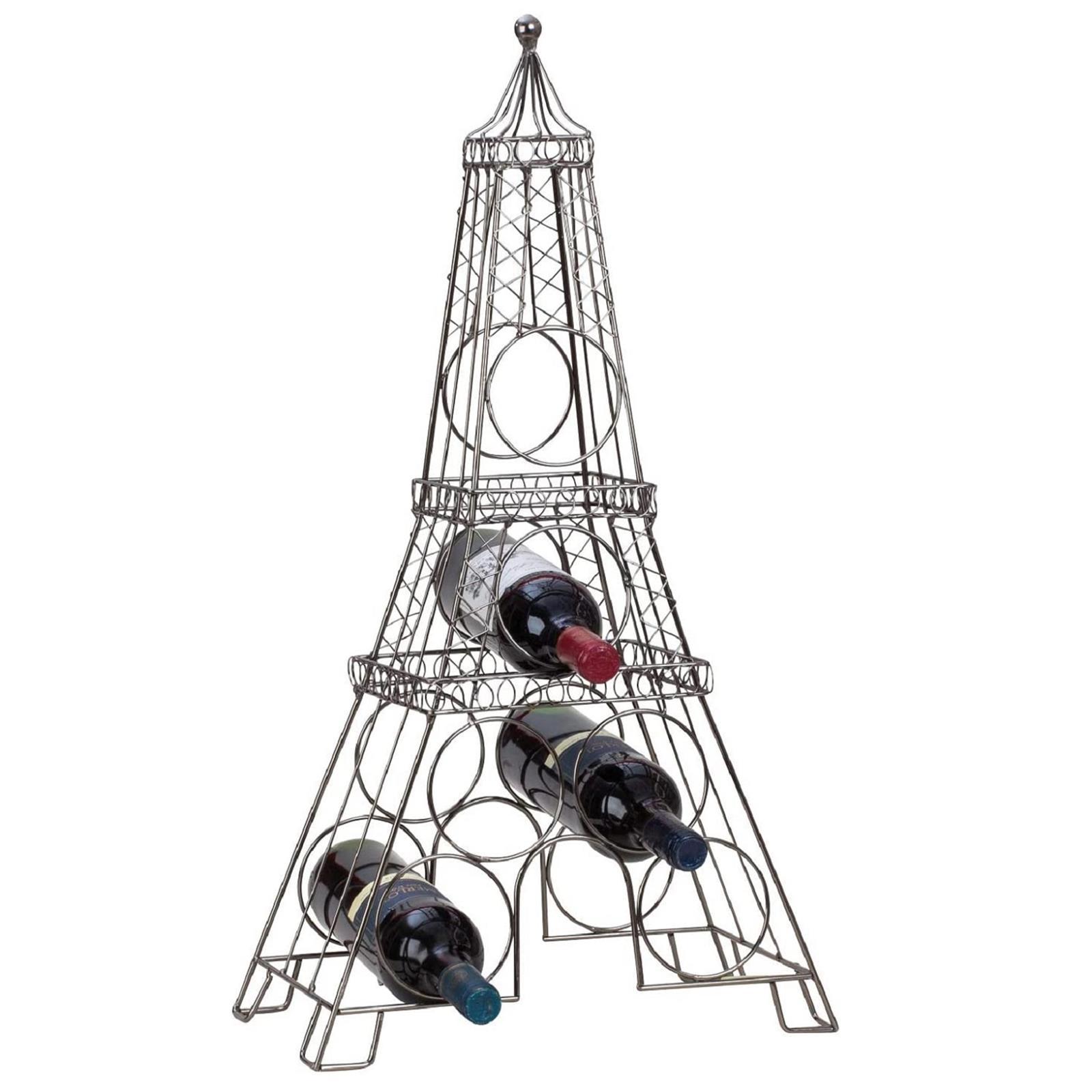 Metall Weinregal Eiffelturm