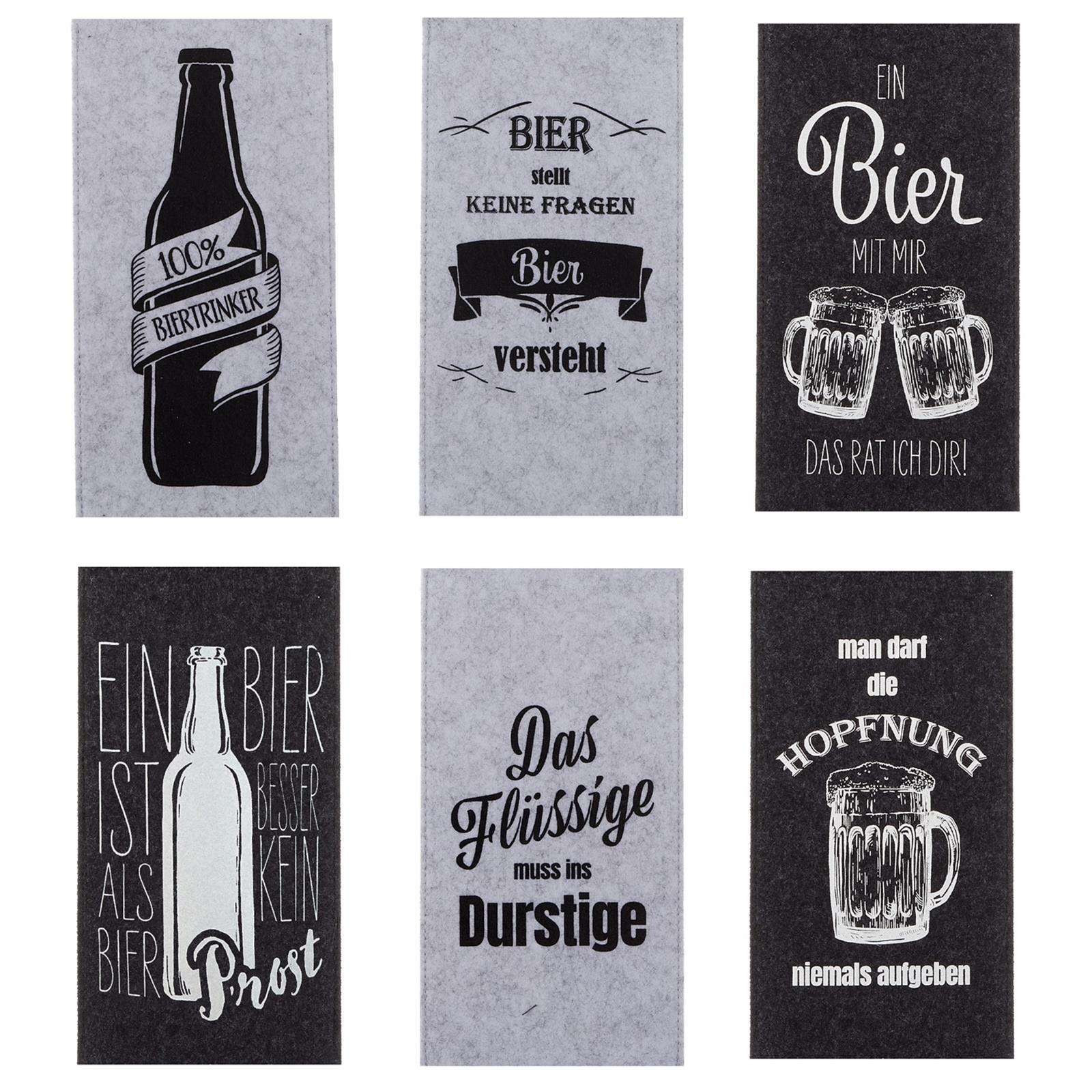 Flaschentüten für Bierflaschen
