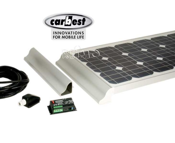 solaranlage wohnmobil 2x100 watt carbest cb 200 set. Black Bedroom Furniture Sets. Home Design Ideas