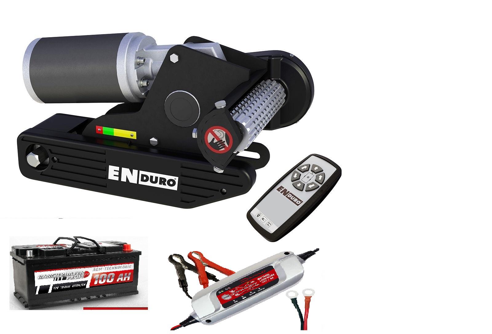 Enduro Em 203 Soft Agm Batterie 12v 100ah Ladegerät Dino