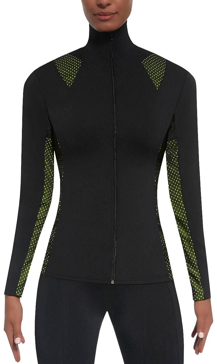Damen Trainingsjacke * S-XL * langarm Sportjacke atmungsaktiv Laufjacke Fitness