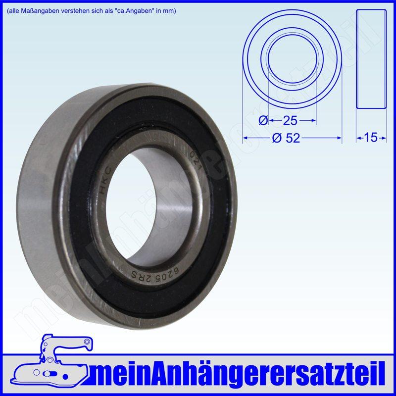 Achslager Lagersatz Radlager Satz 30204 234-76 30206 f/ür BPW Peitz 234//76