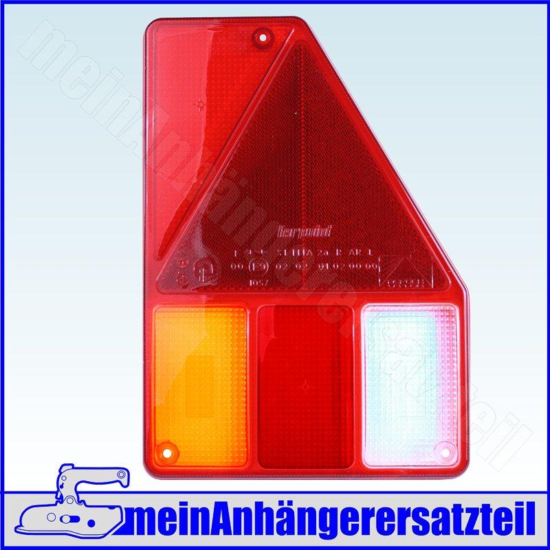 Lichtscheibe Asp/öck Multipoint V links f/ür R/ückleuchte R/ücklicht 18-8485-007 L