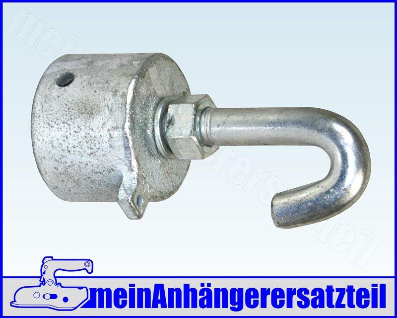 Bruststange Sperrstange Brustrohr Boxenstange 42mm 1m für Pferdeanhänger