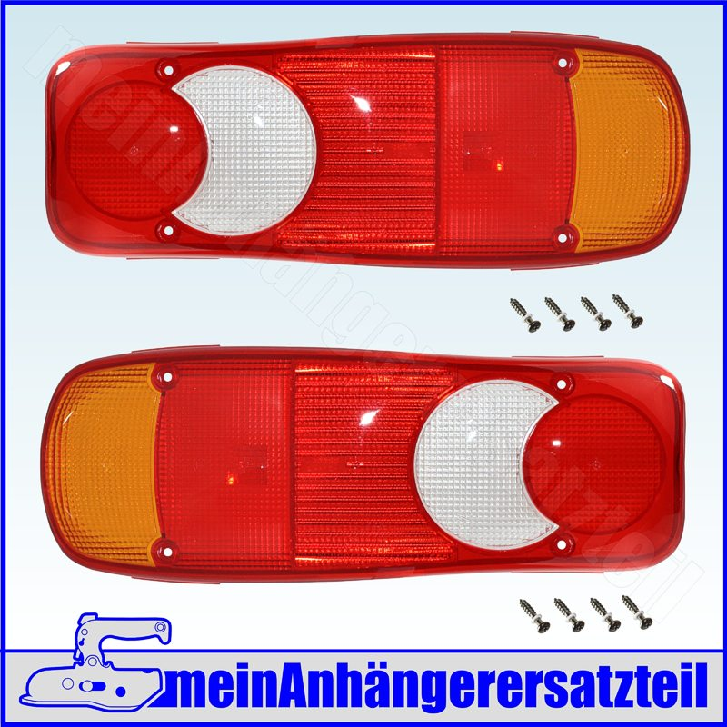 Earpoint III 3 Lichtscheibe 18-8448-107 RECHTS mit Rückfahrscheinwerfer /</<