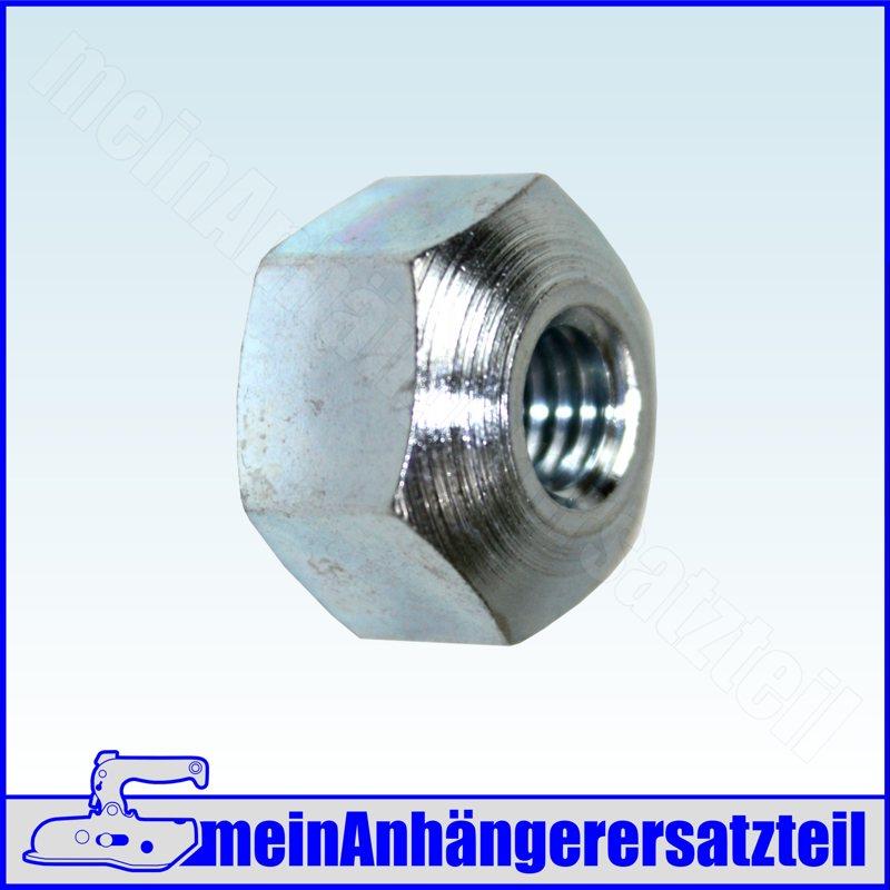 M8 2x Konusmutter Kugelmutter für Anhänger Bremsgestänge Bowdenzug