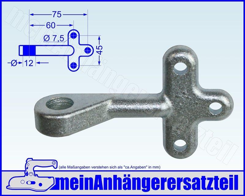 Einfallöse Gegenhalter Gr 0 für Bordwandverschluss Winkelhebelverschluss