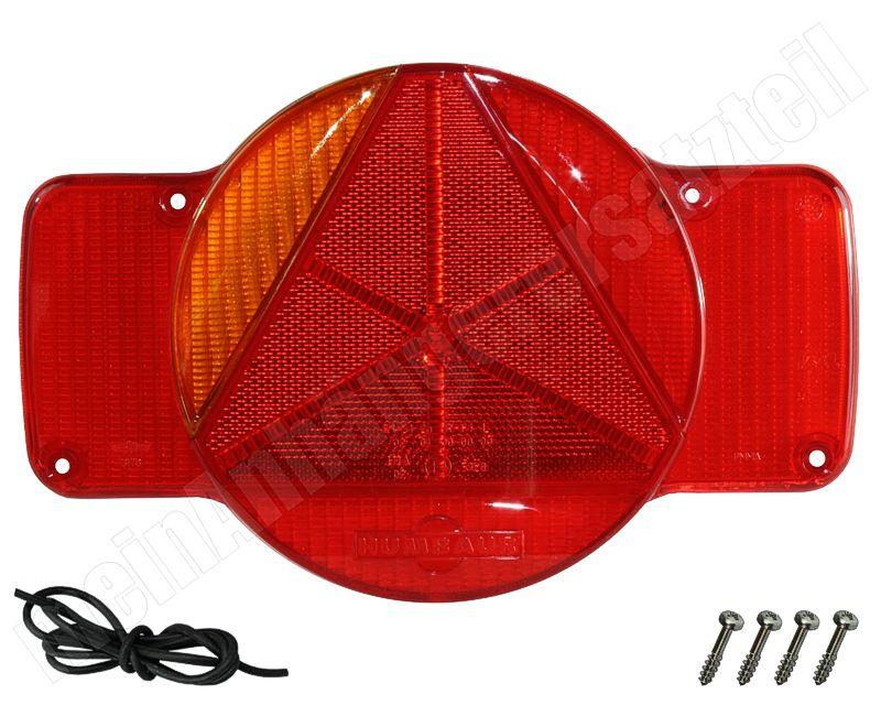 Lichtscheibe Humbaur original links Blink-Stand-Bremslicht,NSL 12V PKW Anhänger