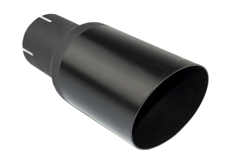 Anschluss 50mm CARTUNER Endrohr Auspuffblende Sportauspuff 80mm f