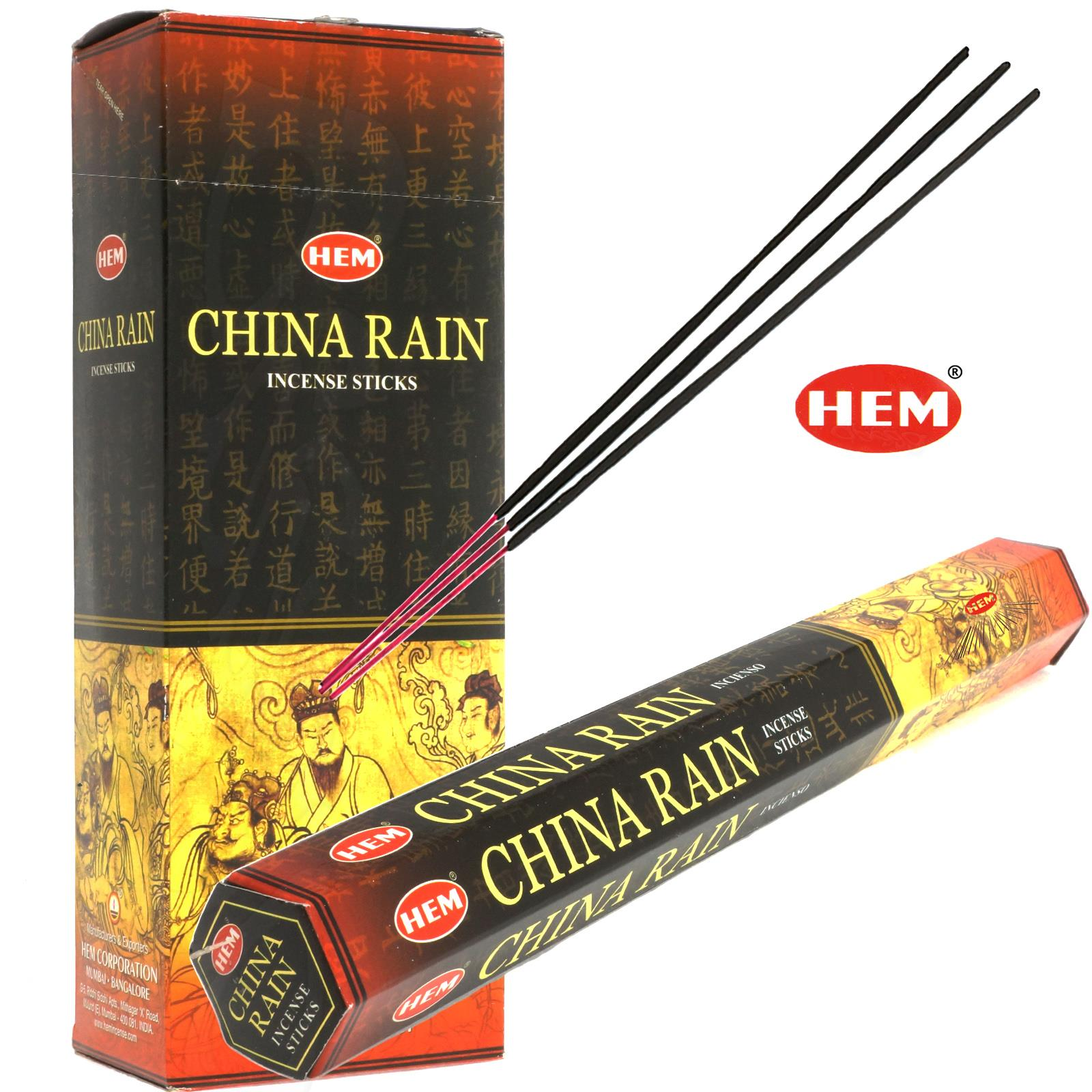 MUSK von HEM BIG PACK 6x 20 Räucherstäbchen Original Indien Incense