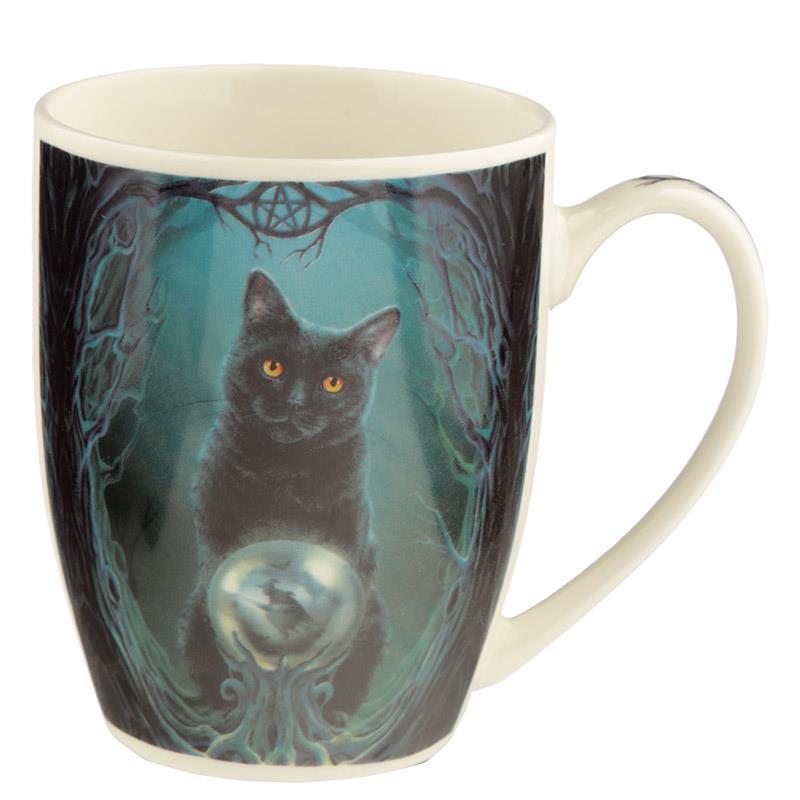 556b2a18e73 Tasse Lisa Parker Aufstieg der Hexenkatze Porzellan Kaffeetasse ...