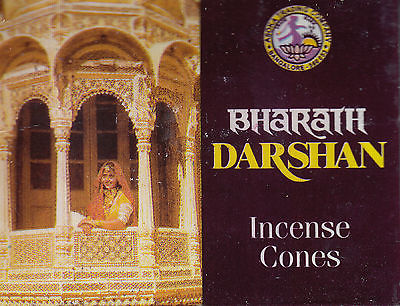 DARSHAN von BHARATH 1x 10 Räucher-KEGEL Incense Cones