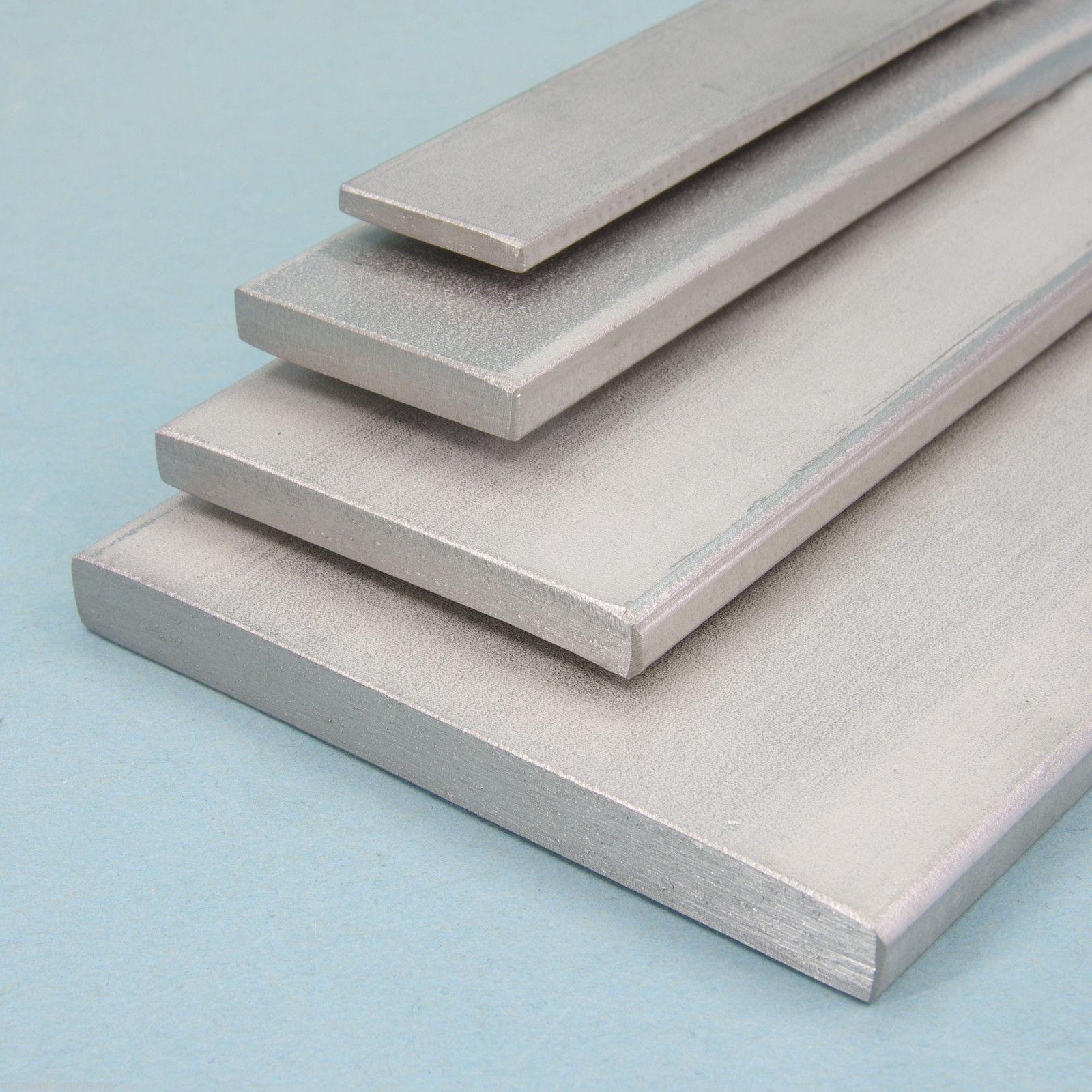 flachstange aluminium almgsi 0 5 profil alu profil flach stange flachmaterial ebay. Black Bedroom Furniture Sets. Home Design Ideas