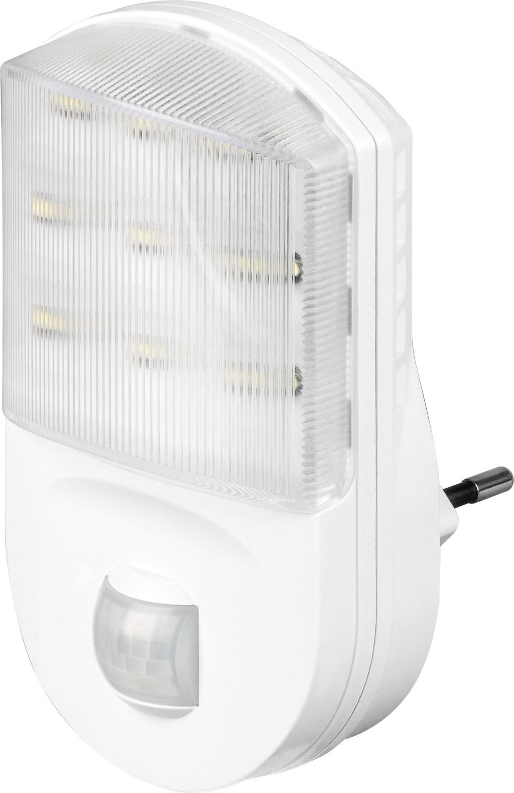 led nachtlicht mit bewegungsmelder f r steckdose nachtlicht nachtlampe ip20 gang ebay. Black Bedroom Furniture Sets. Home Design Ideas
