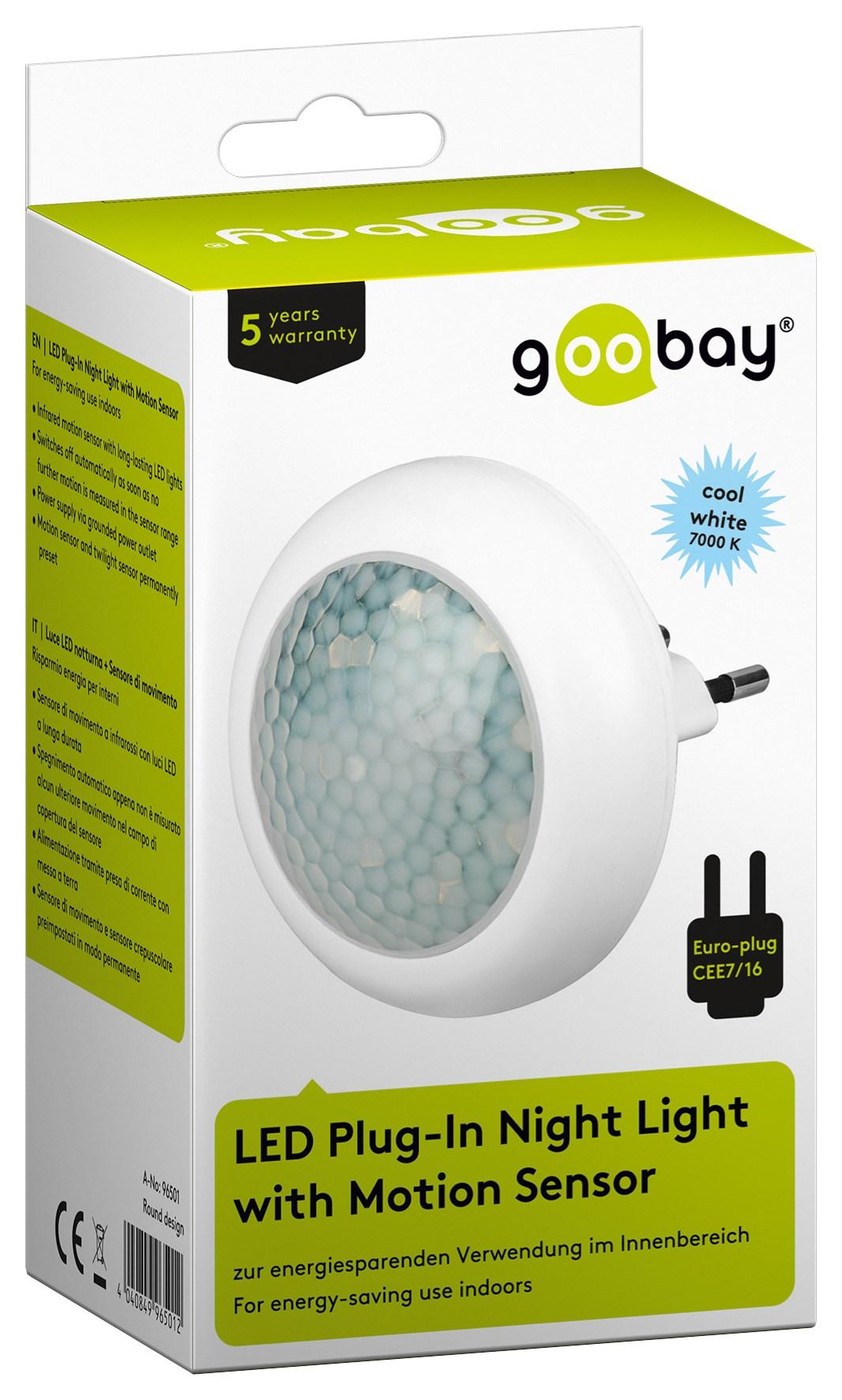 led nachtlicht mit infrarot bewegungsmelder f r steckdose nachtlicht nachtlampe ebay. Black Bedroom Furniture Sets. Home Design Ideas