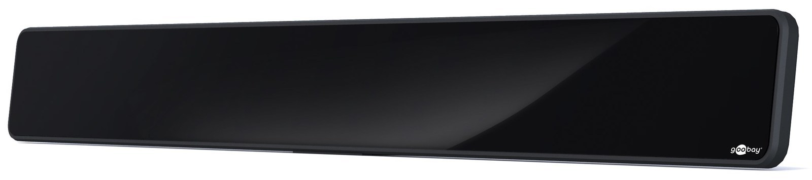 aktive dvb t zimmer antenne full hd schwarz netzteil vhf uhf 35db 30db dab radio ebay. Black Bedroom Furniture Sets. Home Design Ideas